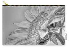 Sunflower Carry-all Pouch by Rod Wiens
