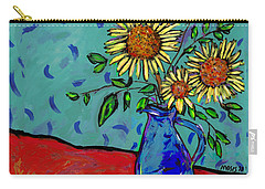 Sunflowers In A Milk Pitcher Carry-all Pouch