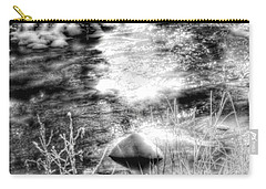 Sunlight In The Springtime Mountains Carry-all Pouch
