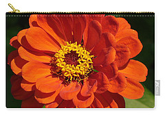 Carry-all Pouch featuring the photograph Sunny Delight by Lingfai Leung