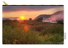 Sunrise At Snake River Carry-all Pouch