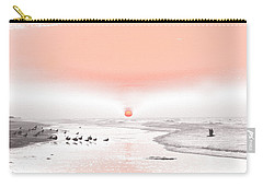 Pastel Sunrise Beach Carry-all Pouch