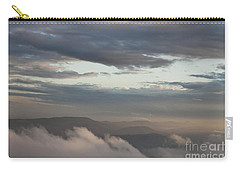 Carry-all Pouch featuring the photograph Sunrise In The Mountains by Jeannette Hunt