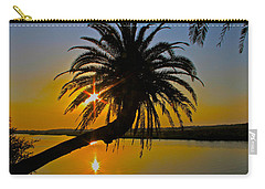 Carry-all Pouch featuring the photograph Sunrise On The Loop by Alice Gipson