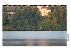 Sunrise Over Lake Bled And The Island Church Carry-all Pouch