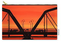 Sunrise Walnut Street Bridge Carry-all Pouch