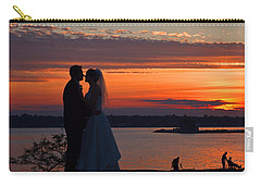 Sunset At Night A Wedding Delight Carry-all Pouch