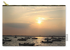 Carry-all Pouch featuring the photograph The Sunset Of Late Summer by Dora Sofia Caputo Photographic Art and Design