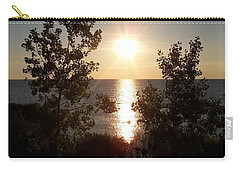 Sunset At The Point Carry-all Pouch