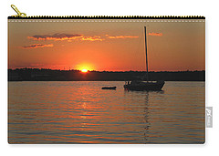 Carry-all Pouch featuring the photograph Sunset Cove by Clara Sue Beym
