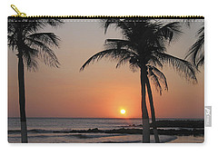 Carry-all Pouch featuring the photograph Sunset by David Gleeson
