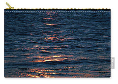Carry-all Pouch featuring the photograph Sunset Denmark Samsoe Island by Colette V Hera  Guggenheim