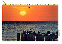 Carry-all Pouch featuring the photograph Sunset In Florida by Lydia Holly