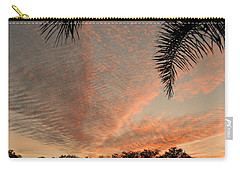 Sunset In Lace Carry-all Pouch