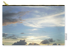 Carry-all Pouch featuring the photograph Sunset In Majuro by Andrea Anderegg