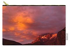 Sunset Murren Switzerland Carry-all Pouch