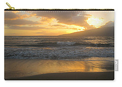 Sunset On Maui Carry-all Pouch