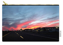 Sunset On Route 66 Carry-all Pouch