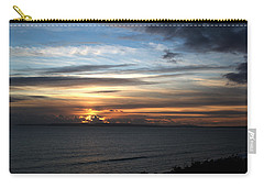 Sunset Over Poole Bay Carry-all Pouch