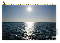 Sunshine Over The Mediterranean Sea Carry-all Pouch