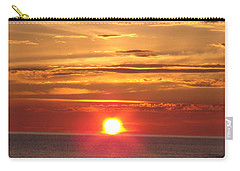 Carry-all Pouch featuring the photograph Superior Setting by Bonfire Photography