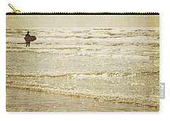 Surf The Sea And Sparkle Carry-all Pouch by Lyn Randle