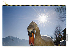 Swan Saying Hello Carry-all Pouch