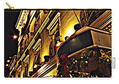 Carry-all Pouch featuring the photograph Swans Hotel by Marilyn Wilson