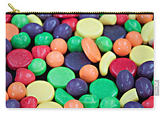 Carry-all Pouch featuring the photograph Sweet Candy Galore  by Sherry Hallemeier