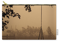 Swing In The Fog Carry-all Pouch by Cheryl Baxter