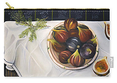 Table With Figs Carry-all Pouch