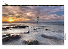 Talacre Lighthouse  Carry-all Pouch by Beverly Cash