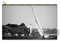 Carry-all Pouch featuring the photograph Tall Ship Race 1 by Pedro Cardona