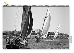 Carry-all Pouch featuring the photograph Tall Ship Races 2 by Pedro Cardona