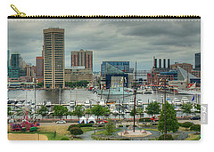 Tall Ships At Baltimore Inner Harbor Carry-all Pouch