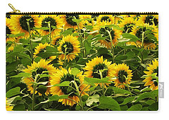 Tall Sunflowers Carry-all Pouch