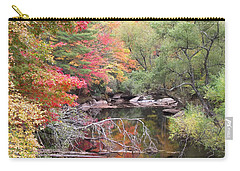 Tanasee Creek In The Fall Carry-all Pouch