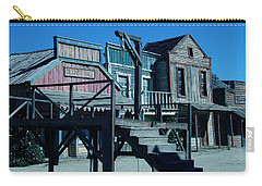 Taverna Western Village In Spain Carry-all Pouch