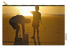 Carry-all Pouch featuring the photograph Teach A Man To Fish... by Eric Tressler