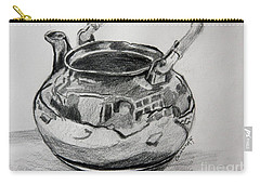 Teapot Reflections Carry-all Pouch