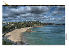 Carry-all Pouch featuring the photograph Tenby North Beach Pembrokeshire  by Steve Purnell