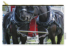 Carry-all Pouch featuring the photograph Tender Moment by Davandra Cribbie