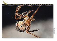 Tending The Web Invisible Carry-all Pouch by Chriss Pagani