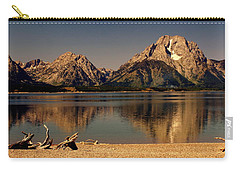 Carry-all Pouch featuring the photograph Teton Panoramic by Marty Koch