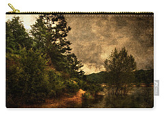 Textured Lake Carry-all Pouch