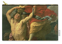The Abduction Of Deianeira Carry-all Pouch by  Centaur Nessus