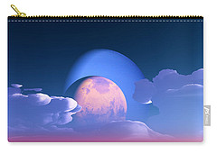 Carry-all Pouch featuring the digital art The Alignment... by Tim Fillingim