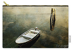 The Boat In Winter Carry-all Pouch
