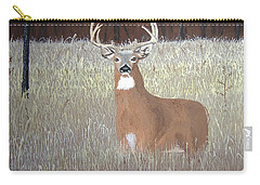 Carry-all Pouch featuring the painting The Buck Stops Here by Norm Starks