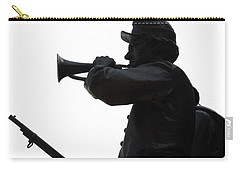 Carry-all Pouch featuring the photograph The Bugler by Cindy Manero